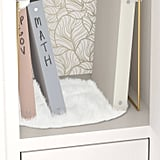Locker Faux Fur Rug White