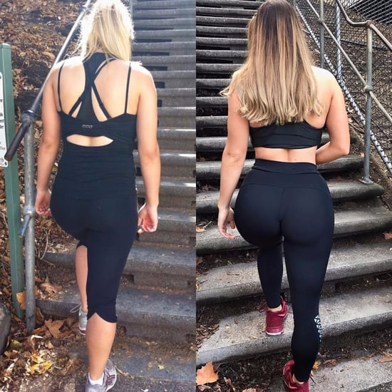 Jem Wolfie Booty Gains Before and After
