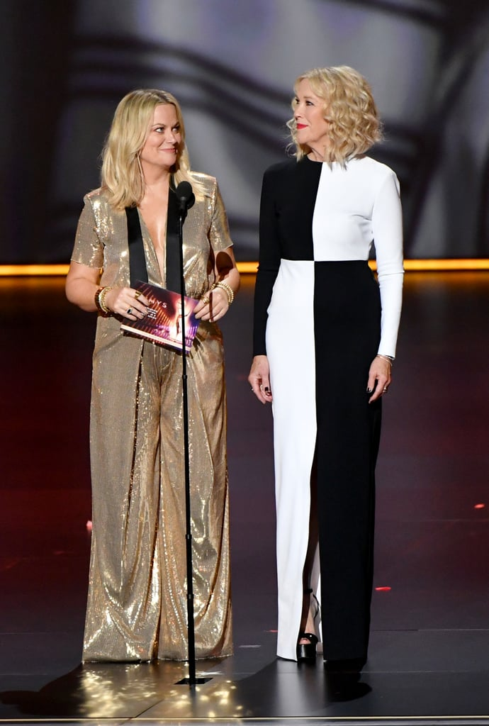 Amy Poehler and Catherine O'Hara at the 2019 Emmys