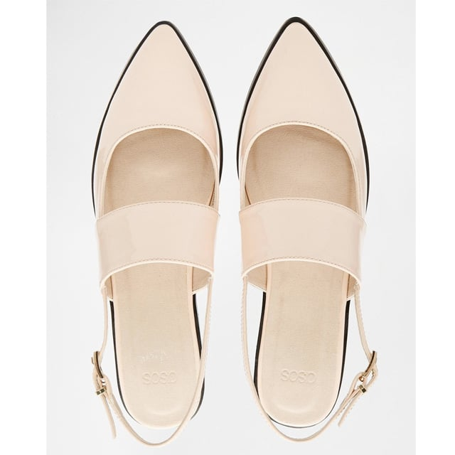 Asos 'Motion' Pointed Flat Shoes ($38)