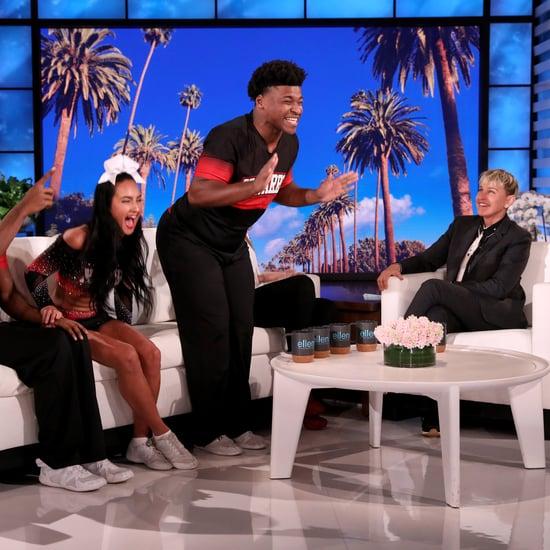 Watch Cheer's Navarro Team on The Ellen DeGeneres Show