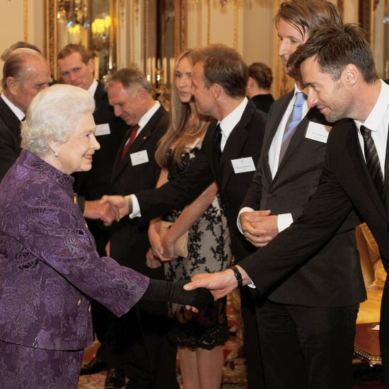 Hugh Jackman Meeting Queen of England Pictures