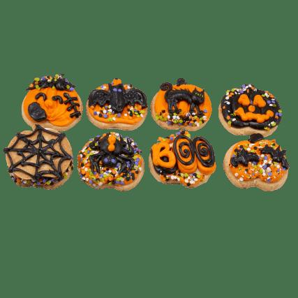 Sam's Club $7 Premade Halloween Pumpkin Cookie Kits