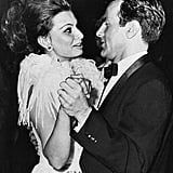 Sophia Loren at the 1963 Academy Awards