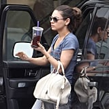 Mila Kunis's Morning Workout Is No Sweat