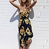 Sunward Floral Dress