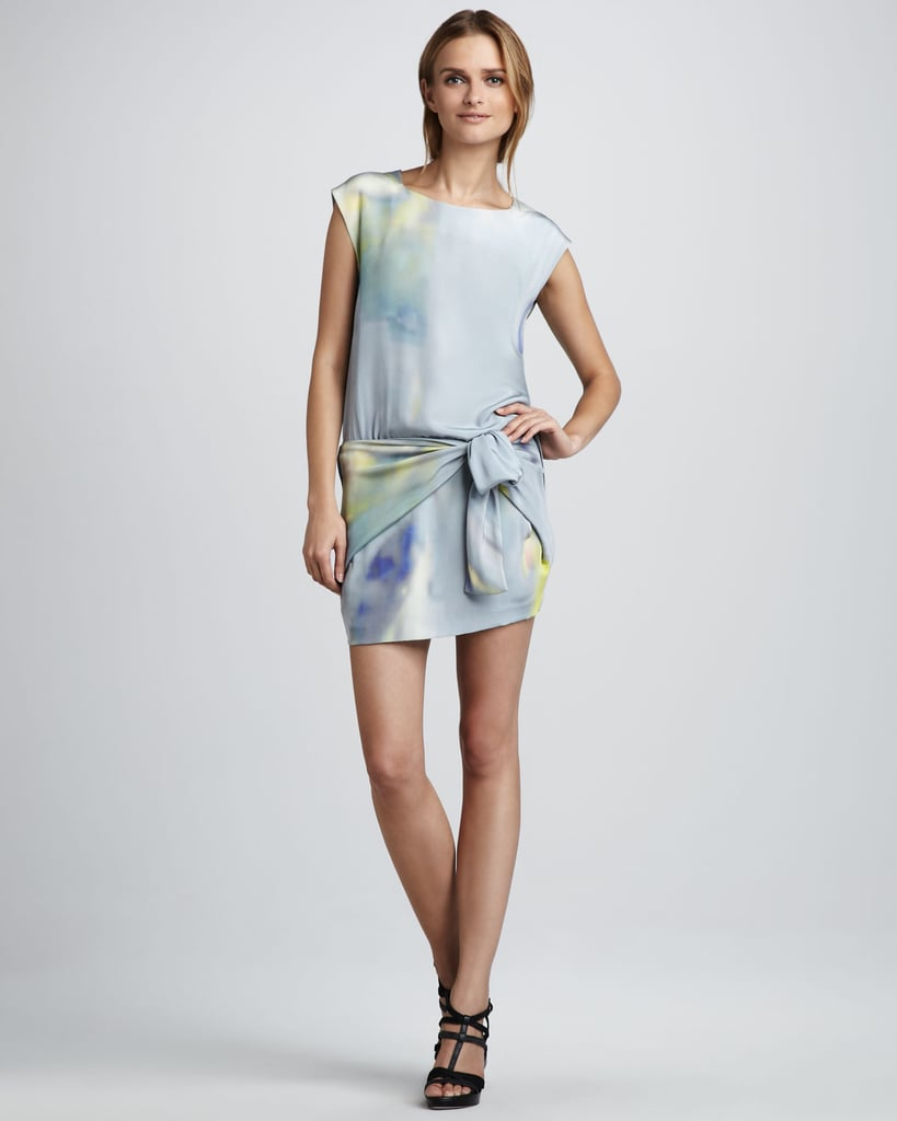 This Theyskens' Theory Watercolor dress ($357, originally $595) is dainty, but the side panels give it a sporty kick we can't get enough of.
