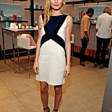 We do enjoy this Emilio Pucci dress, but those black Bionda Castana pumps are just darling.