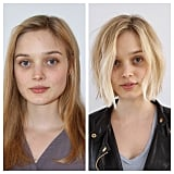 Bella Heathcote goes to the lightens her hair, in length and colour! The chin grazing length, by Anh Co Tran, is super-cute on her and works really well with her square face shape.