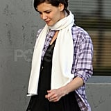 Katie Leaves the Studio