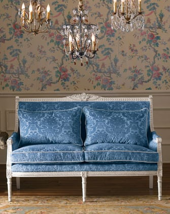 Crave Worthy: Neiman Marcus Carved Loveseat