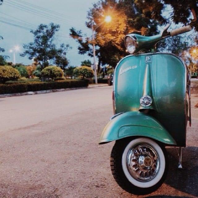 Ride a Vespa