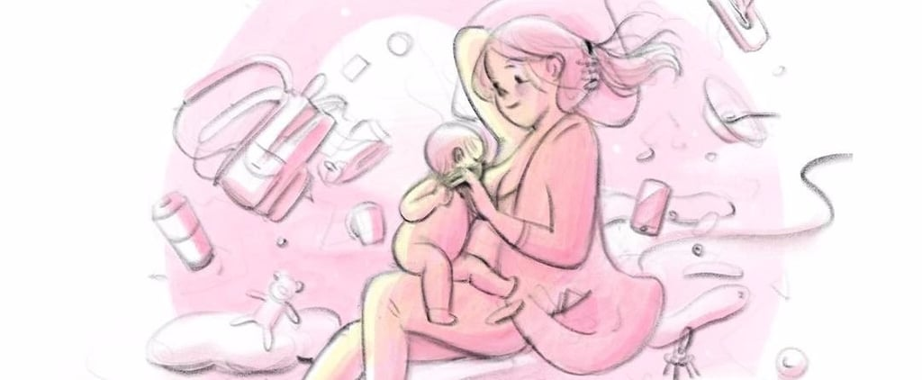 These Serene Breastfeeding Drawings Are Guaranteed to Help You Nurse