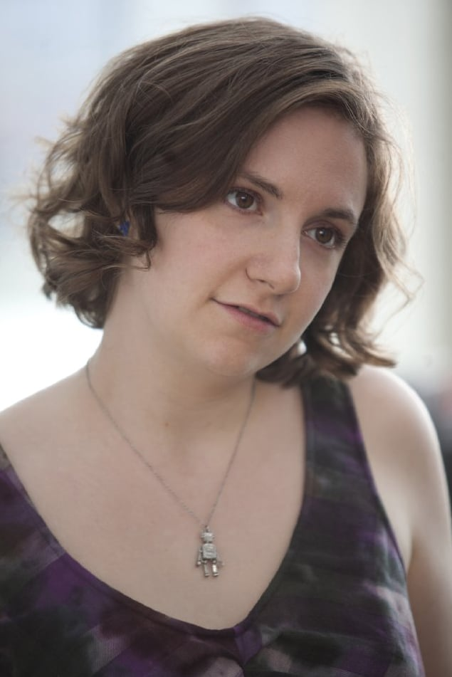 Lena Dunham As Hannah Horvath In Girls Tv Show Beauty Offspring
