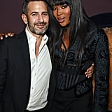 Marc Jacobs and Naomi Campbell