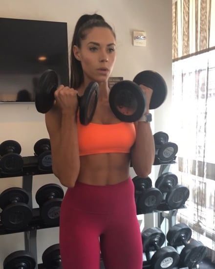 Kelsey Wells At-Home Arms and Abs Workout