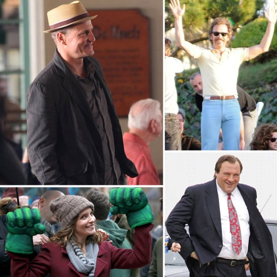 Celebrities on Set For the Week of January 23, 2012