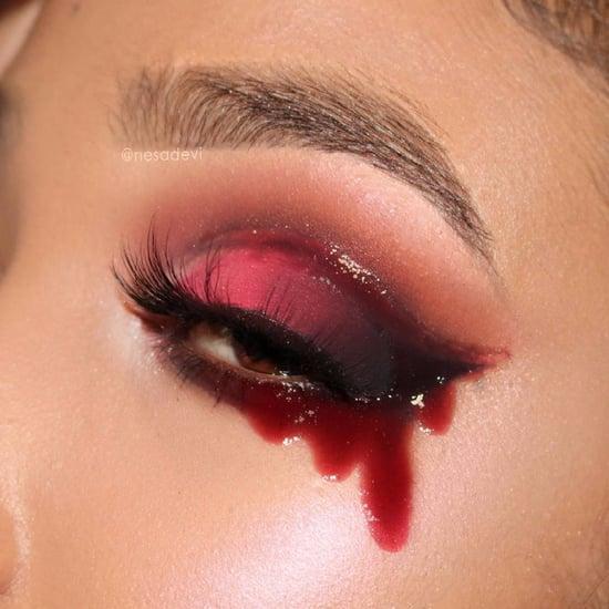 Gory Halloween Eye Makeup