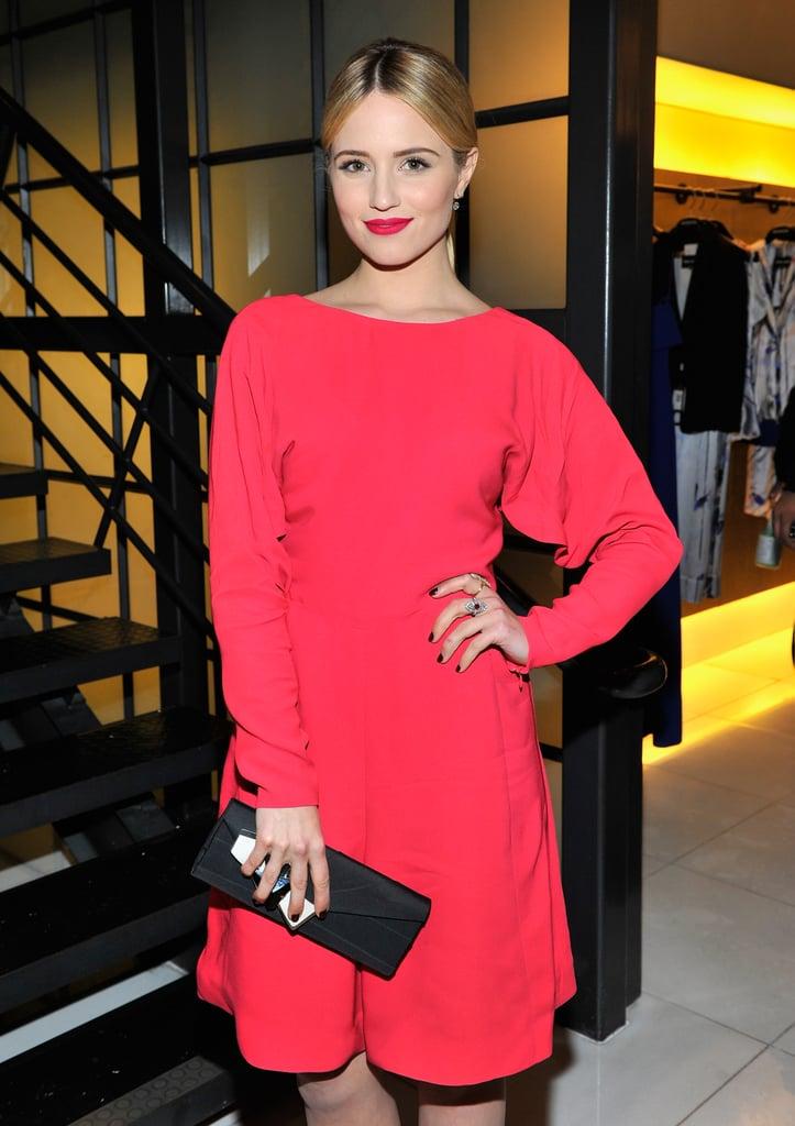Dianna Agron at the Giorgio Armani Oscars Party