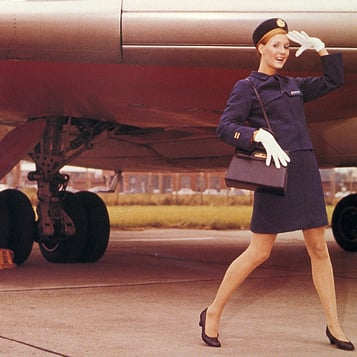 Vintage Photos of Flight Attendants