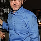 Kevin Spacey popped up at the Moments in Motion event on Thursday.
