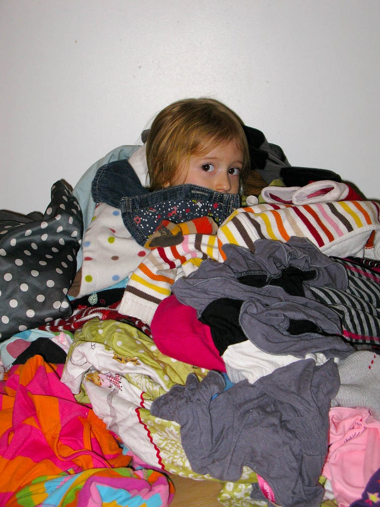 . . . And Picking Out Her Own Clothes
