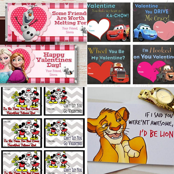 These 24 Valentines Will Make Every Disney Loveru0027s Heart Explode