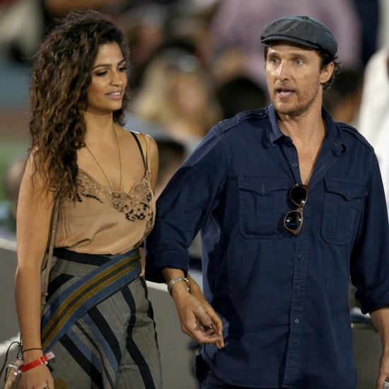 Matthew McConaughey and Camila Alves at LA Dodgers Gala 2016