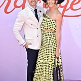 Matty Johnson and Laura Byrne