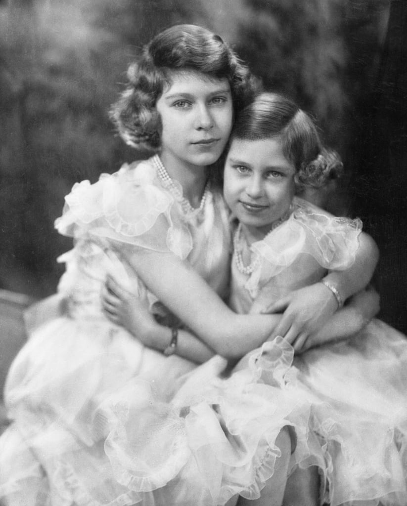 "At the age of 4, then-Princess Elizabeth became an older sibling. Her sister Princess Margaret was born in August 1930, and the two little girls had an undeniable and unbreakable bond from the start. The princesses were educated together by a governess at their home in London until 1936, when their father, the Duke of York, reluctantly took the throne after his brother Edward's abdication. Along with their parents, King George VI and the Queen Mother, the young girls moved into Buckingham Palace. . . and their lives basically changed forever. Many accounts of the girls' royal upbringing detail their differences in personality. For instance, Elizabeth was always a serious and responsible child, while Margaret was your typical second-born: precocious and playful, with a wild streak and penchant for grabbing attention. If it sounds familiar, it should: just look at the similar traits found in other royal second children like Prince Harry, Zara Tindall, and Princess Charlotte. It's also well-known that King George would often say of his daughters, ""Lilibet is my pride, Margaret my joy."" As you know, Elizabeth became queen after the unexpected death of King George VI — and though Margaret would go on to live a life of privilege and glamour untethered from the responsibilities of the crown, she was still technically one of her sister's royal subjects. Margaret and Elizabeth spoke nearly every day (Margaret, who lived at Clarence House, had a direct line to her sister at Buckingham) and would often gossip and laugh on the phone. Their relationship hit a bit of a snag in 1953, when Margaret sought permission from the queen to marry the man she loved, Group Captain Peter Townsend. The fact that Peter was a divorced father who was also 16 years older than Margaret wasn't exactly suitable for the monarchy (or the church), and if you've watched The Crown, you'll know that Elizabeth's inability to allow Margaret to marry Peter Townsend caused a short-lived rift in their sisterly bond.       Related:                                                                                                           If It Wasn't For Princess Margaret, You Probably Wouldn't Be Able to Read Your Horoscope Today               After Margaret's death in February 2002, Elizabeth announced the news from Buckingham Palace: ""The Queen, with great sadness, has asked for the following announcement to be made immediately,"" it read. ""Her beloved sister, Princess Margaret, died peacefully in her sleep this morning at 6:30 a.m. in the King Edward VII Hospital."" Reinaldo Herrera, friend of Margaret's, told Vanity Fair that on that day, the queen ""lost her most intimate companion.""  A private service for family and friends was held six days later, on the 50th anniversary of Margaret and Elizabeth's father's own funeral. Margaret was cremated — a rarity for royals — and her ashes were placed in the tomb with her parents, King George VI, and the Queen Mother (who died just seven weeks after Margaret) at Windsor Castle. Reinaldo Herrera recalled the queen's emotions on the day of her sister's service. ""Never explaining anything to the world — what she feels, or why she does what she does — is part of her greatness,"" he wrote. ""But for a few minutes that day, as she stood by the steps of St. George's Chapel at Windsor Castle, watching her sister's coffin being borne away, her eyes betrayed her."" We've rounded up the best photos of Elizabeth and Margaret's close bond, from the time Margaret entered the world up to her death in 2002."