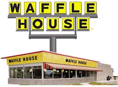 Waffle House Valentine's Day
