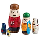 Peanuts Hand-Painted Wooden Nesting Dolls