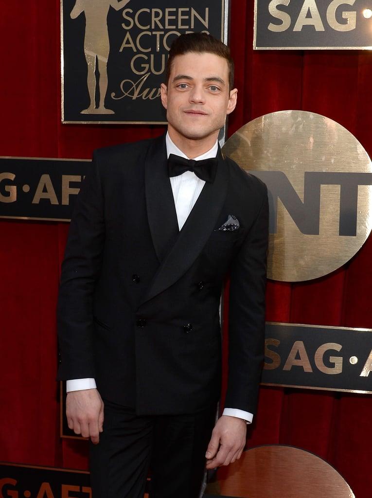Rami Malek at the Screen Actors Guild Awards 2016