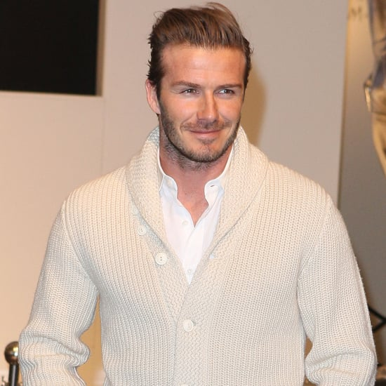 David Beckham Is Elle UK's First Solo Male Cover Star