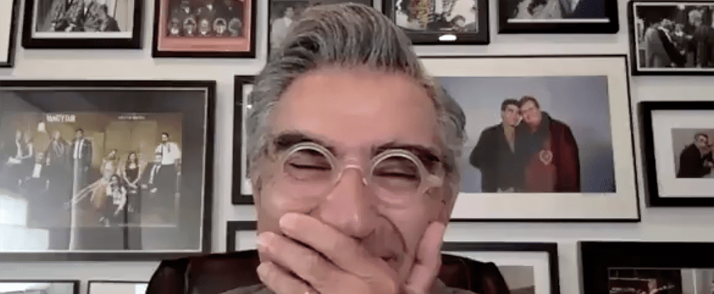 Eugene Levy Cries Getting Lifetime Achievement Award