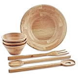 Oak Bowls (3-Pack) or Server Set (3-Piece), $14.99 (Each)