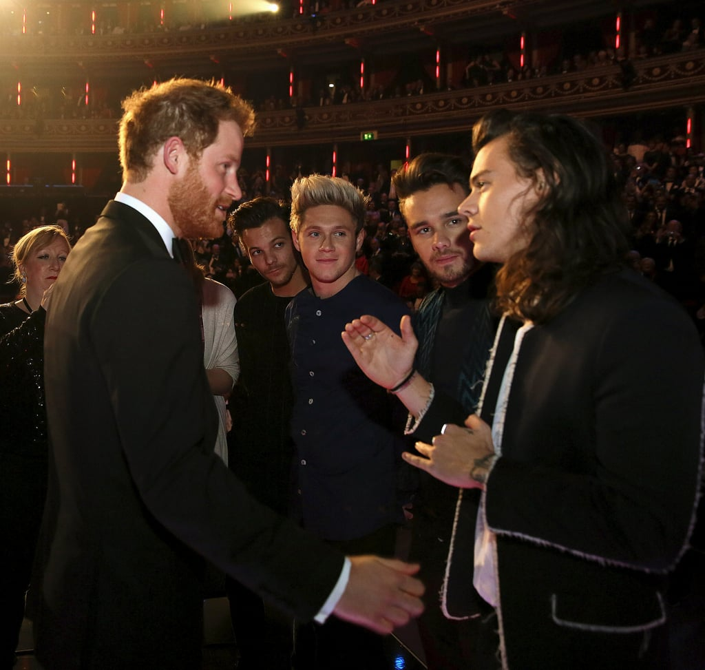 Prince Harry and One Direction