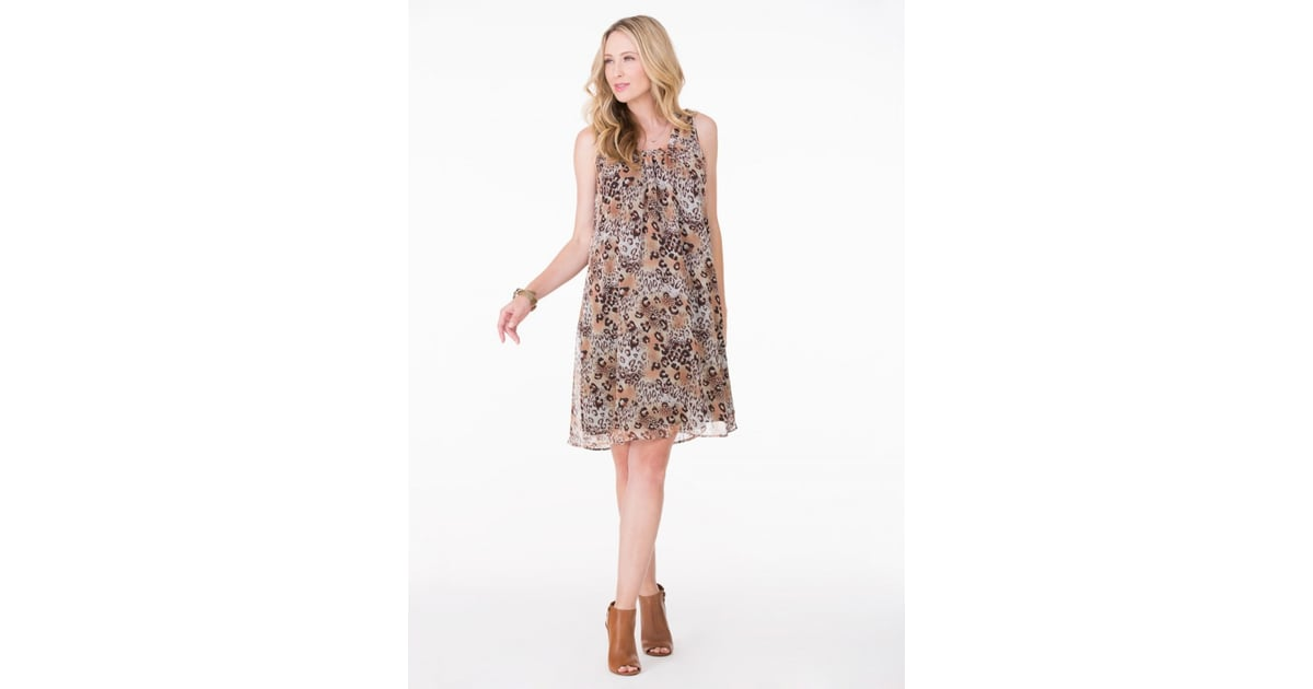 2695f233063ee Ingrid & Isabel Leopard Print Dress ($50, originally $98) | Cheap ...