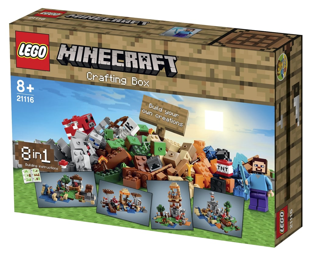 For 8-Year-Olds: Lego Minecraft Crafting Box