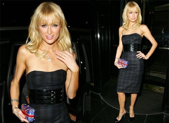 22/10/08 Paris Hilton In London