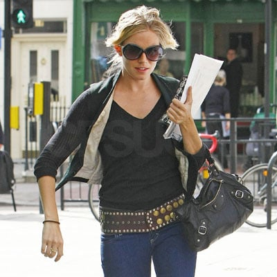 Sienna Miller at the London Passport Office 2008-04-01 23:21:43