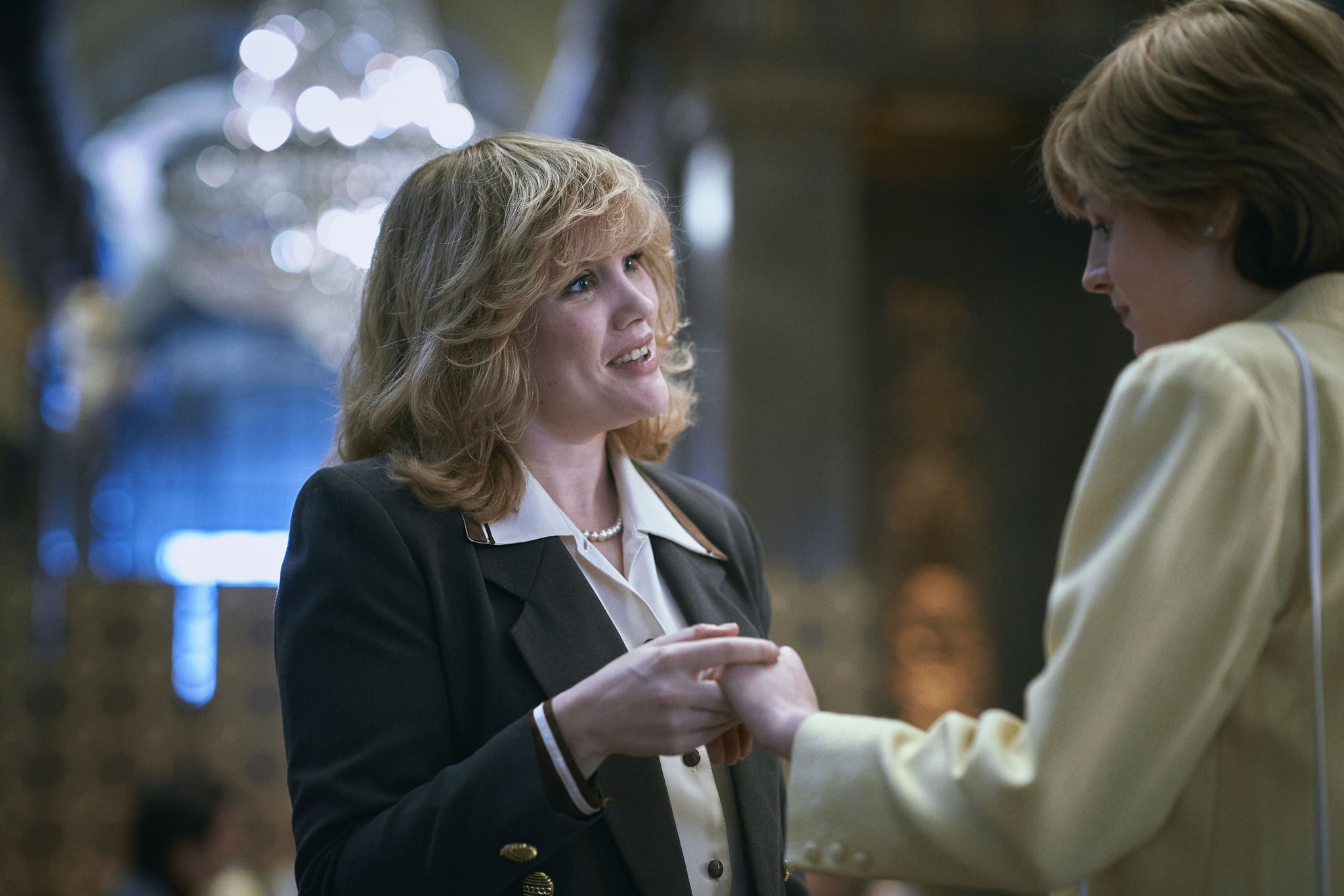 The Krone S4.  PICTURE SHOWS: Camilla Parker Bowles (EMERALD FENNELL).  Location: Australia House, Aldwych