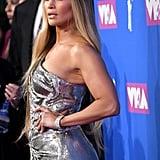Jennifer Lopez at the 2018 VMAs