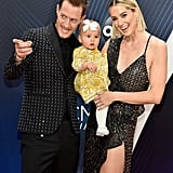 Tyler Hubbard With His Daughter at the CMA Awards 2018