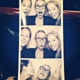 There are seven of us here at POPSUGAR, and three are engaged! So if there's a wedding-related event? Outta the way, please! Tara, Alison and Ali hit the photo booth at The Ultimate Wedding Planning Party during the week.