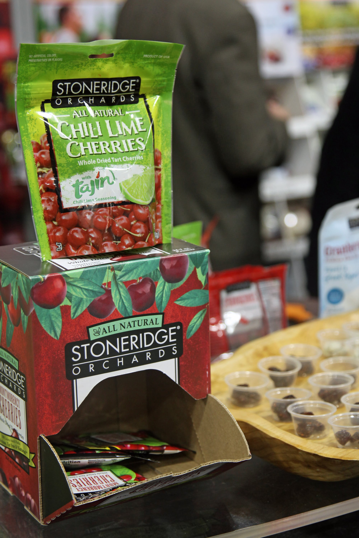 Best Sweet Snack (Runner-Up): Stoneridge Orchards Chili Lime Cherries