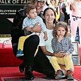 Dad Jeff Goldblum