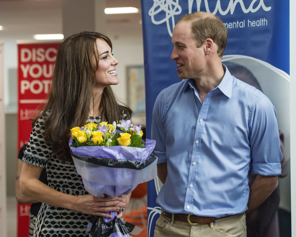 Kate Middleton and Prince William have had many cute moments since their wedding in 2011, and they've shared even more just this year. Of course, there has been plenty to smile about — they welcomed their daughter, Princess Charlotte, in May, and celebrated Prince George's second birthday in July. During those milestones and other big public appearances over the past ten months, Prince William and Kate traded sweet glances, cracked each other up, and looked more in love than ever. See their best 2015 moments and then reminisce about their off-the-charts adorableness during their 2014 royal tour.