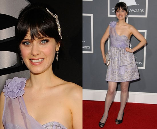 Grammy Awards: Zooey Deschanel