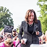 """At some point, support for diversity has to become more than words, and when we're given the opportunity to uplift and support progressive-leaning women and candidates of color or tear them down, we need to choose the former. In a similar vein, we need to question whether we're actually moving the needle forward by hyper-scrutinizing and capitalizing on any flaw we can find in a progressive-leaning woman of color candidate. There are no perfect candidates, but as we continue to challenge them to listen, evolve, and better support our values, we should also consider the deep value and power of electing women and diverse politicians to represent us. Certainly, """"progressive"""" male candidates are allowed leeway for past mixed records: Sen. Bernie Sanders once maintained a more conservative record on gun control but has dodged the same criticisms about authenticity and """"flip-flopping"""" that Gillibrand faces for her record on gun control. He also voted for the same 1994 crime bill that Hillary Clinton, his former rival for the Democratic nomination, was endlessly attacked by progressives for supporting. Concerns about the record and character of a candidate will always be valid, especially in a political climate in which there has arguably never been more at stake. Nominating an electable Democratic presidential candidate is important — but so is questioning why some candidates are considered electable and others are not. Women and women of color candidates will face more challenges on the campaign trail than white male candidates. But if we don't regard inclusion in government as worth the extra work, our stated support for it becomes meaningless. In 2016, Hillary Clinton became not only the first female nominee of a major political party but also the first woman to win the popular vote. After her defeat, many mused about whether it would take generations for women to heal, let alone run for and be elected president. But in 2018, her loss had the opposite effect, galvanizi"""